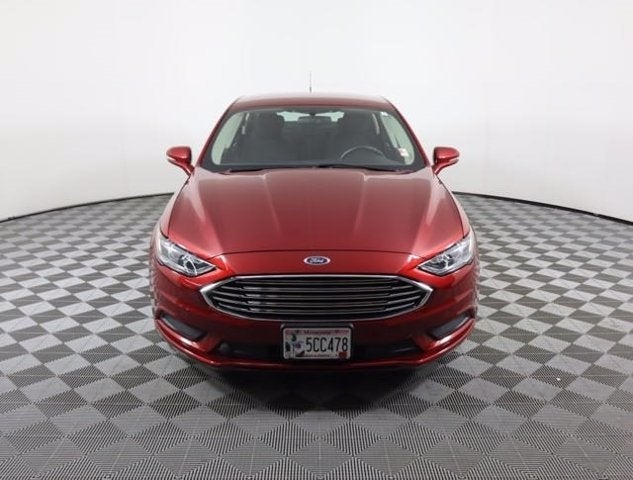 Used 2017 Ford Fusion SE with VIN 3FA6P0H71HR200989 for sale in Faribault, Minnesota