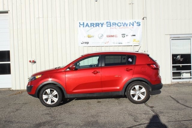 Used 2013 Kia Sportage LX with VIN KNDPB3A25D7498171 for sale in Faribault, Minnesota
